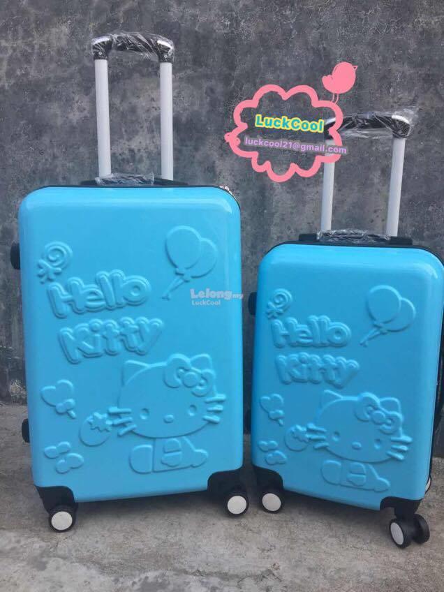 45ee5433f Travel Luggage Bag Cute Hello Kitty N (end 2/9/2017 6:15 PM)