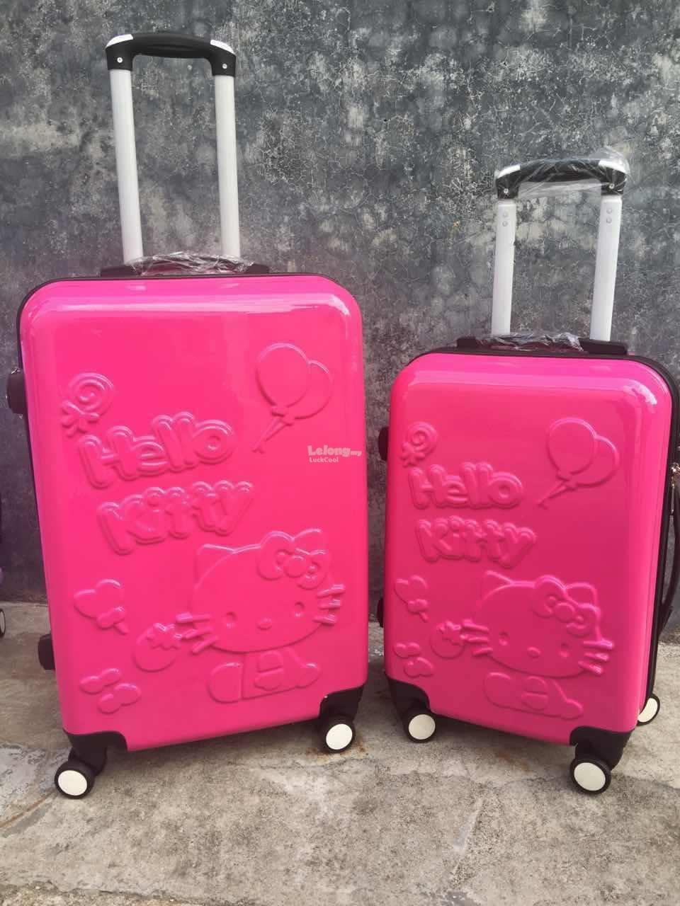 Travel Luggage Bag Cute Hello Kitty N (end 2/9/2017 6:15 PM)