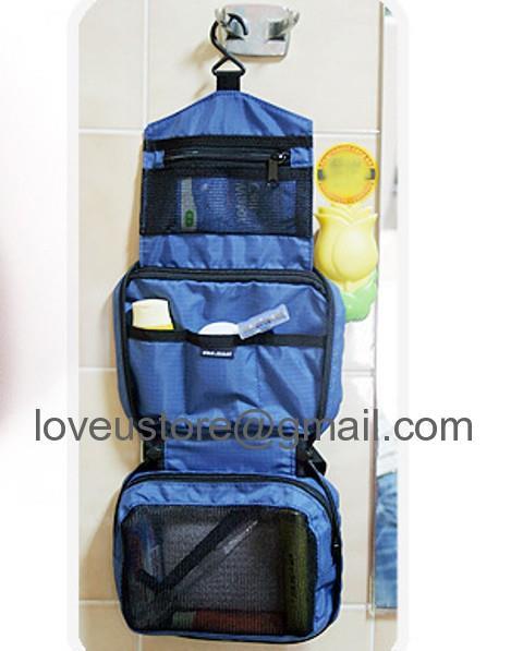 fc6ec8f3739a *Travel Mate Cosmetic^Bags Makeup Toiletries Purse Pouch Bag Organizer