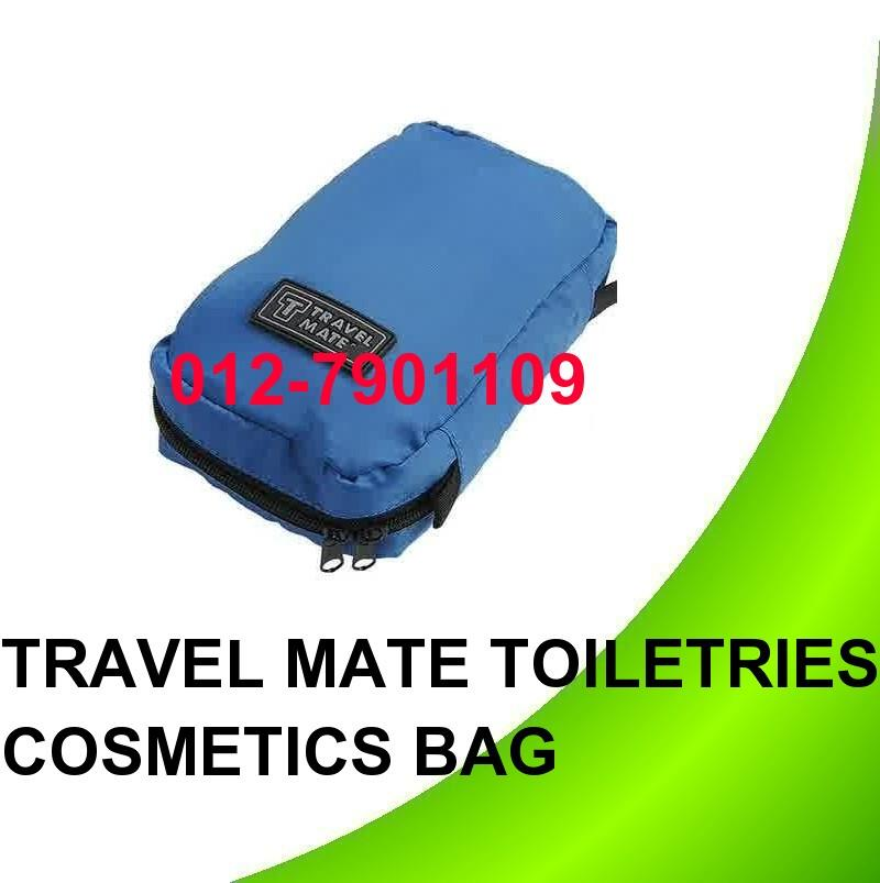 *Travel Mate Cosmetic Bags Makeup Toiletries Purse Pouch Bag Organizer