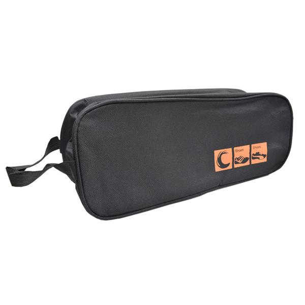 Travel Shoe Organizer Bag (Black)