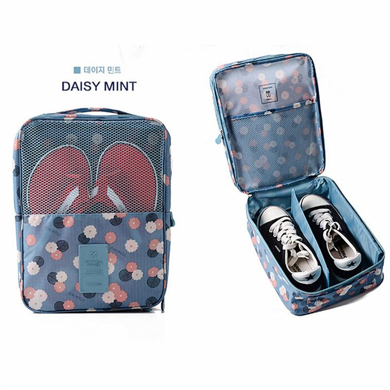 Travel Shoe Pouch Organiser Bag Ver 2 Water Resistant