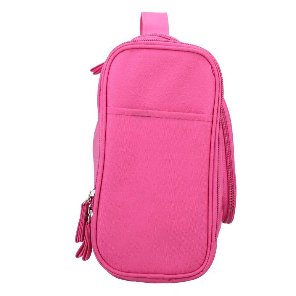 Travel Toiletry Tote Hanging Grooming Zipper Water Resistance Outdoor Multifun