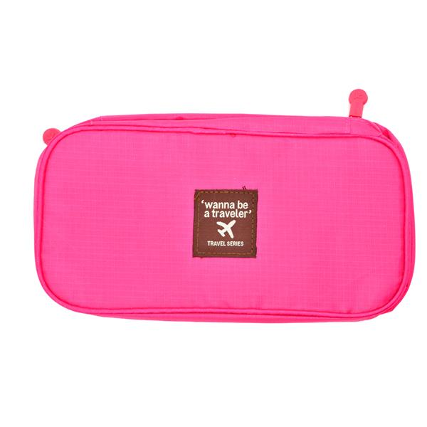 Travel Underwear Organizer Bag (Pink)