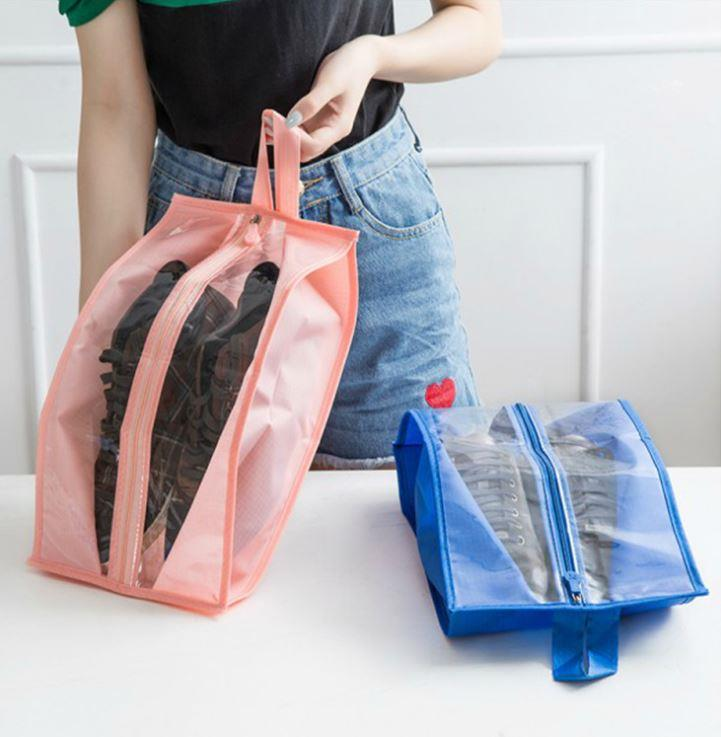 Travel Waterproof Transparent Shoes Storage Bag