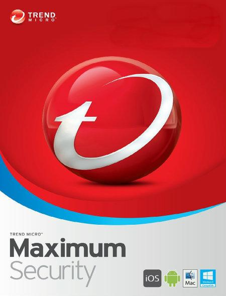 Trend Micro Maximum Internet Antivirus Security 2020 Windows Mac PC