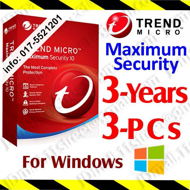 Trend Micro Maximum Security 2017 anti virus antivirus TrendMicro .