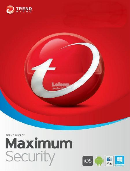 Trend Micro Maximum Security 2018-3 Years 3 Device Win Mac ios Android