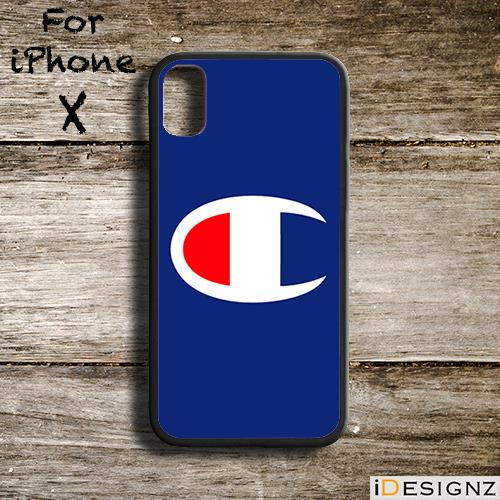 25fe2675b0619 Trendy Champion Logo Case Cover for iPhone X 8 8+ 7 7+ 6 6. ‹ ›