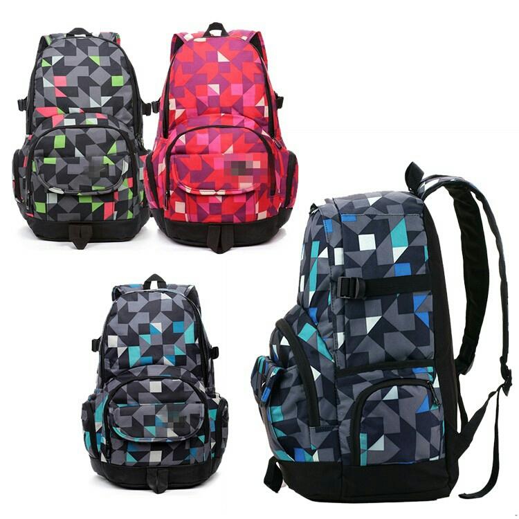 1bd2034e2 Trendy Geometry Pattern Sport Travel Laptop Nike Backpack Bag. ‹ ›
