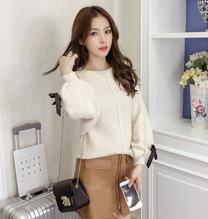 Trendy Knit Top Almond