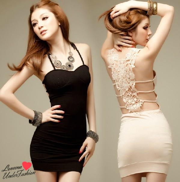 35dbe435fe137 Trendy Sexy Clubbing Costume Party Night Dress L1028 (2 Colours)
