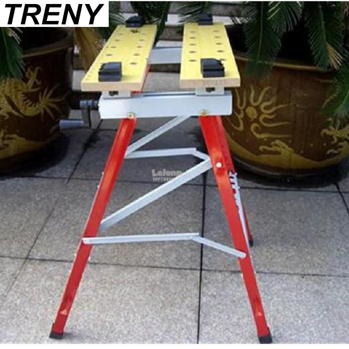 TRENY Portable Work Center and Vise A-1000