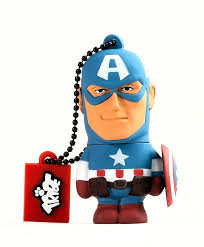 TRIBE AVENGERS ASSEMBLE-CAPTAIN AMERICA 16GB FLASH DRIVE