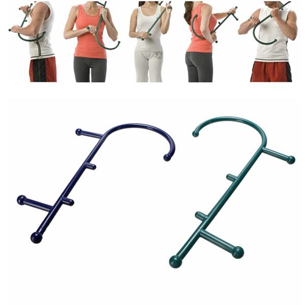 Trigger Point Acupoint Self Massage Therapy Cane Back Neck Pain Relief