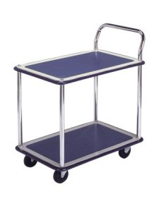 Trolley Hand Truck 1Handle 2Decker 150Kgs Metal MS114