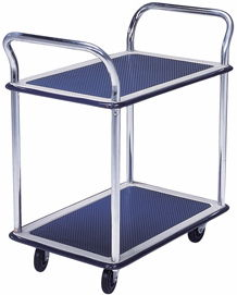 Trolley Hand Truck 2 Handle 2 Decker 150 Kgs Metal