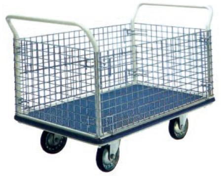 Trolley Platform 2Handle 500Kgs Metal Netting NG407 FOC Del No GST KLV