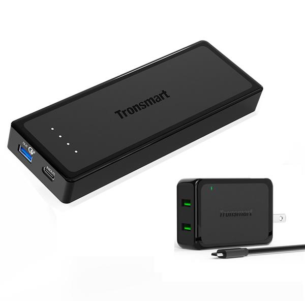 Tronsmart Presto  12000 mAh Quick Charge 3.0 Power Bank -Buy 10 Free 1