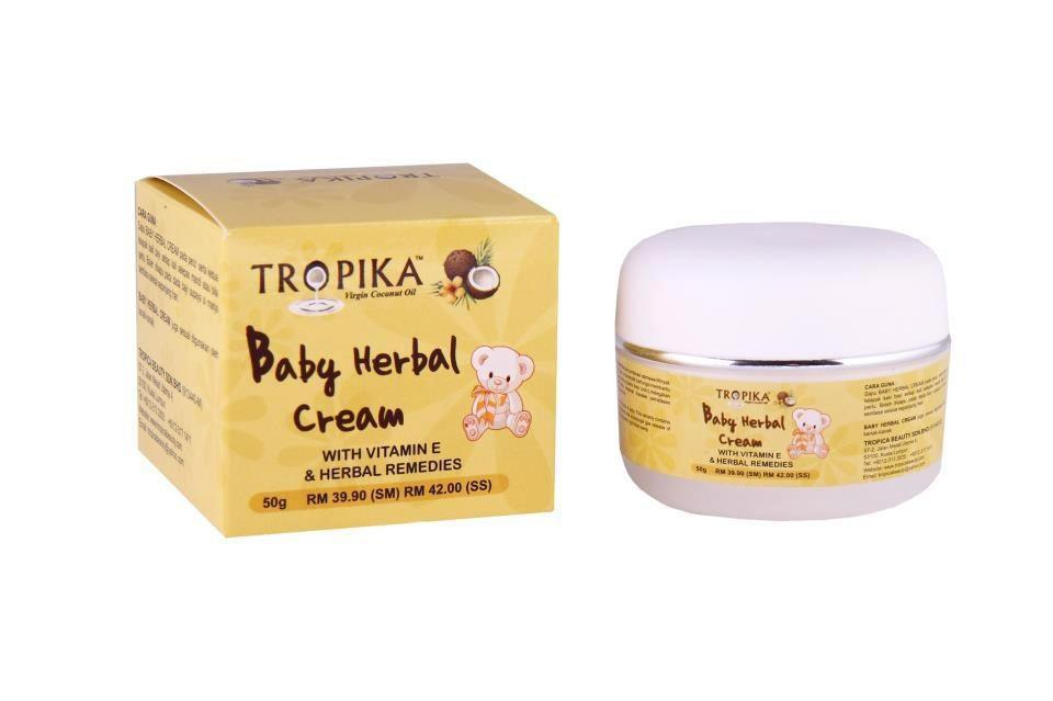 Tropika:Baby Herbal Cream