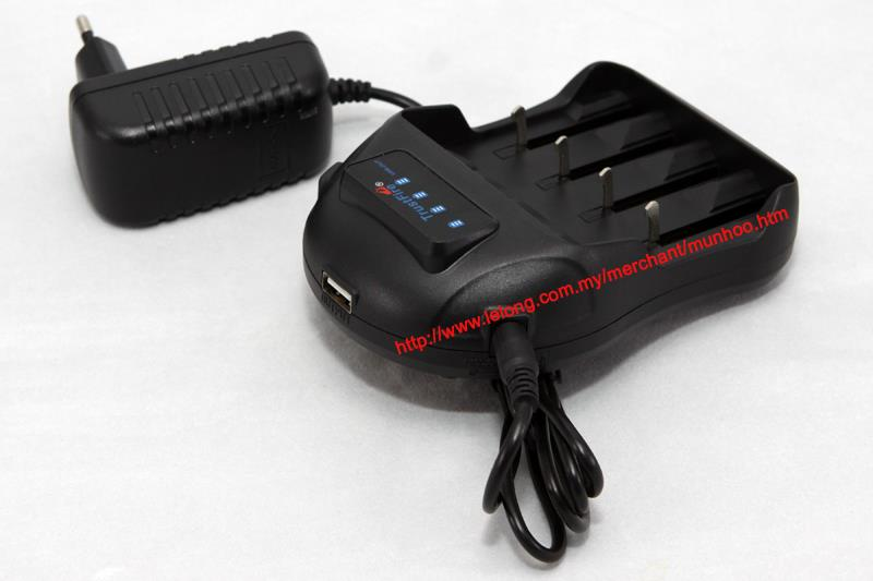 TrustFire TR-009 18350 18650 li-ion Battery Charger USB POWERBANK