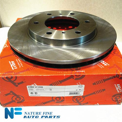 TRW Disc Rotor For Pajero Sport VGT2011, M/Triton (Front)