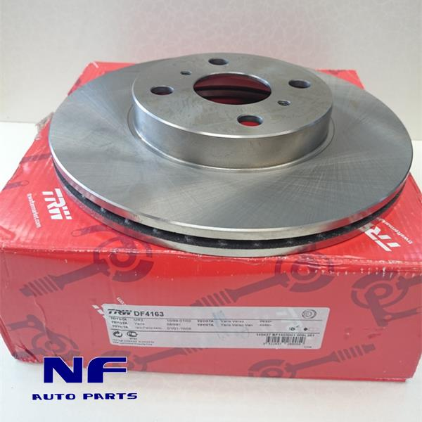 TRW Disc Rotor For Toyota Vios NCP42 (Front)