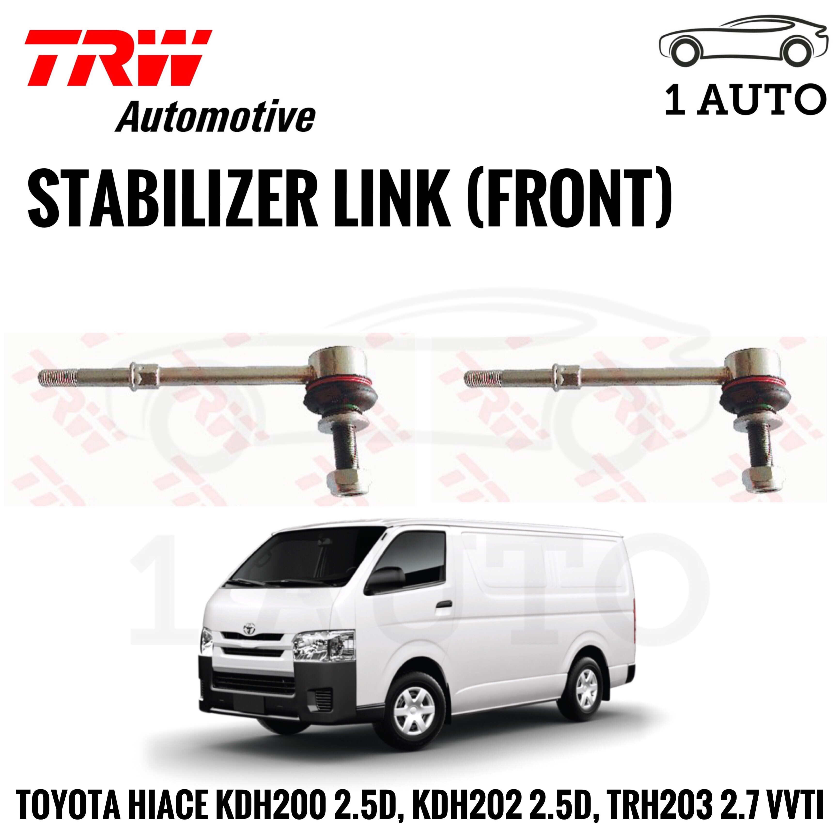 TRW FRONT STABILIZER LINK for TOYOTA HIACE KDH200 2 5D, KDH202 2 5D,