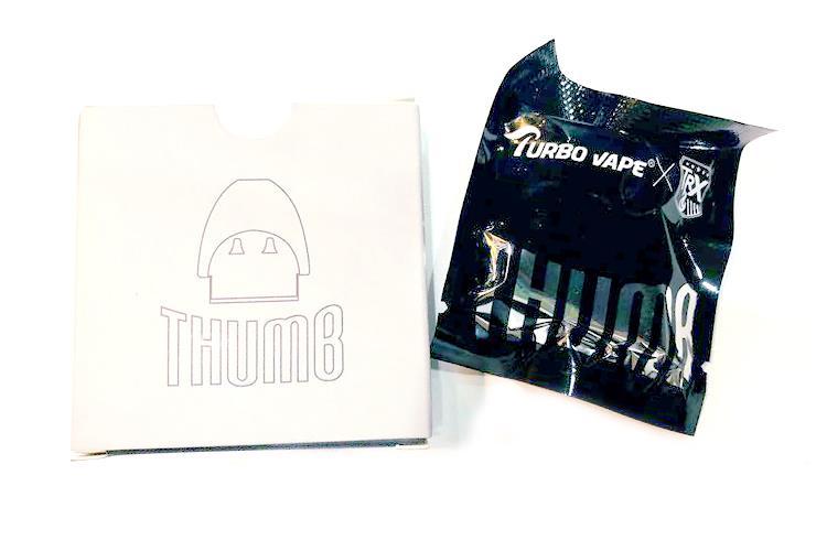TRX Turbo Vape Thumb Replacement Pod Cartridge 1pcs