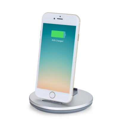 TS029 2 in 1 8 Pin Stand Charging Desktop Dock Station Holder IPHONE