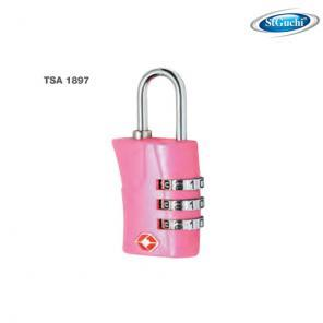 TS1897 ST GUCHI 3-DIGIT LUGGAGE LOCK - PINK