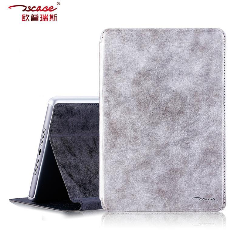 Tscase Apple iPad Air 2 Air2 iPad6 Vintage Flip Smart Case Cover +SP