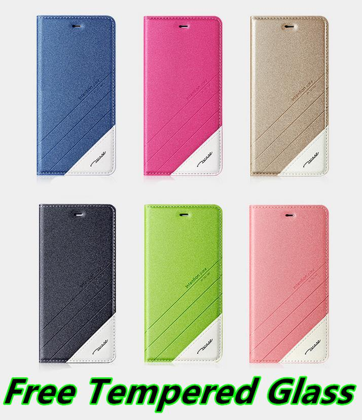 Tscase Xiaomi Max Flip Case Cover Casing + Free Tempered Glass