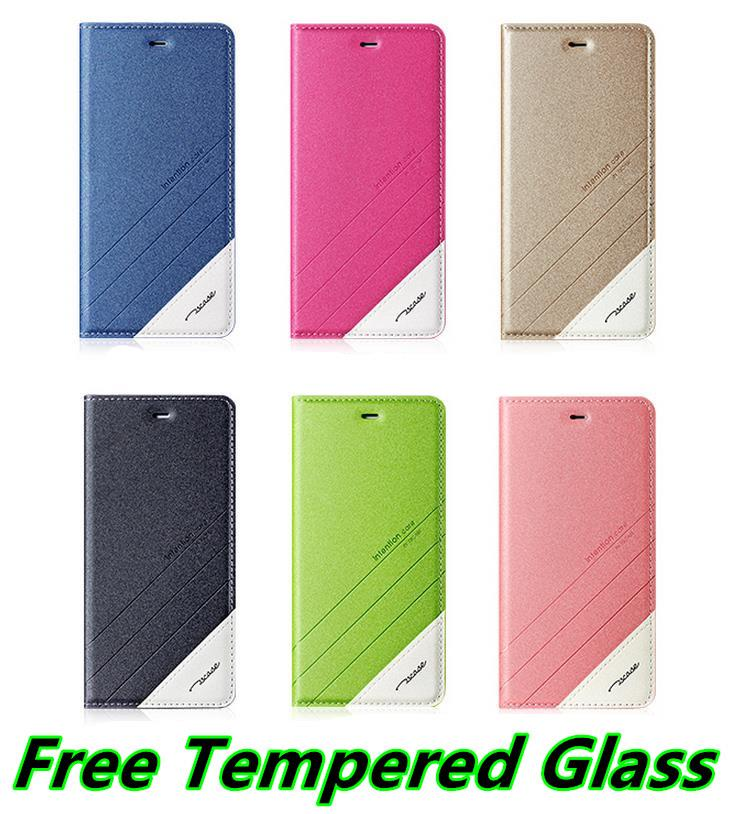 Gratis Tempered Glass. Source · Luxury PU PC Flip Stand Leather Case .