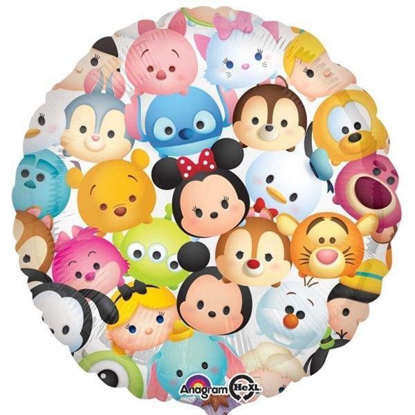 Tsum Happy Birthday 17 Inches Round Foil Balloon 34139