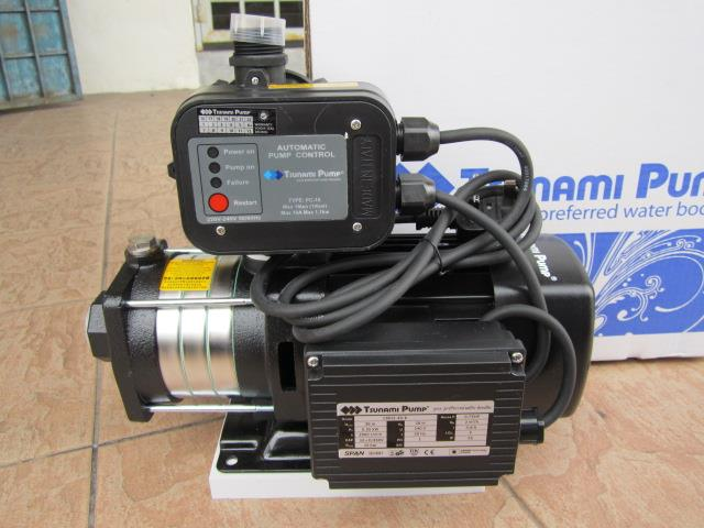 Tsunami 0.75HP Horizontal Multi-Stage Water Booster Pump