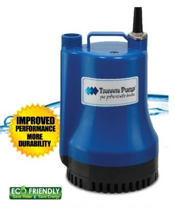 Tsunami TOB-100 100W Clean Water Submersible Pump