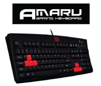 TT ESPORTS Keyboard USB AMARU GAMING (KB-AMR009USD)