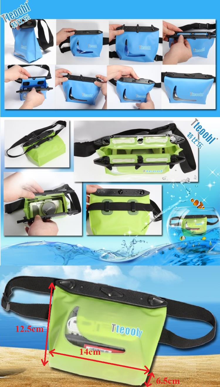 Tteoobl T-020C Waterproof Diving Waist Pack (20M)