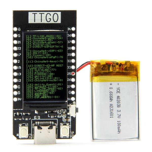 TTGO T-Display ESP32 WiFi Bluetooth Module With LCD Development Board