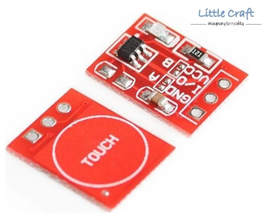 TTP223 Capacitive Touch Sensor Button For Arduino