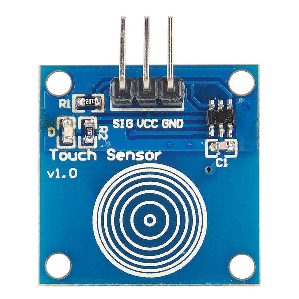 Digitln Kapacitn dotykov senzor TTP223Bcz