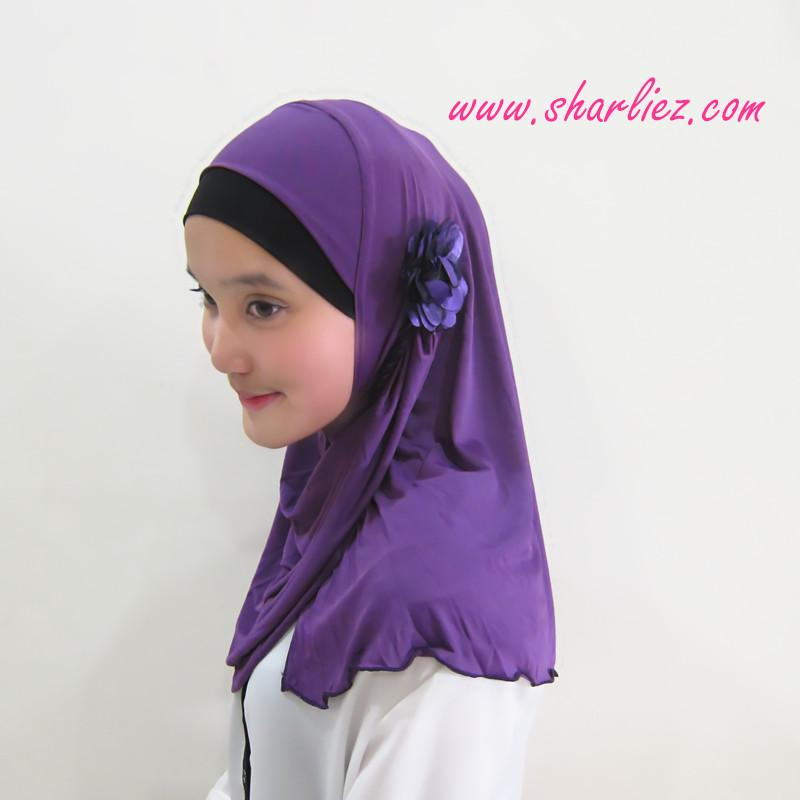 Tudung & Shawl flower 3