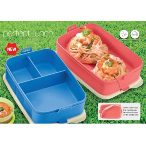 Tupperware Click To Go (2) 900ml - Random Color Send