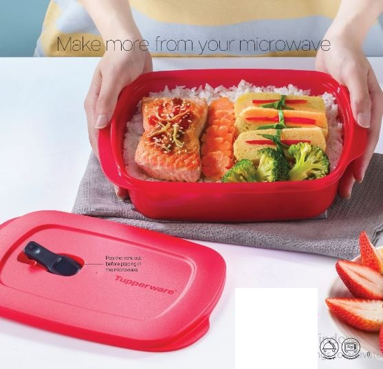 Tupperware Crystalwave Rect (1) 1.0L