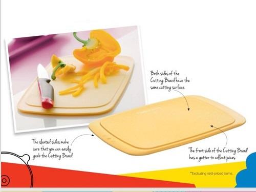Tupperware Cutting Board (1)pc only