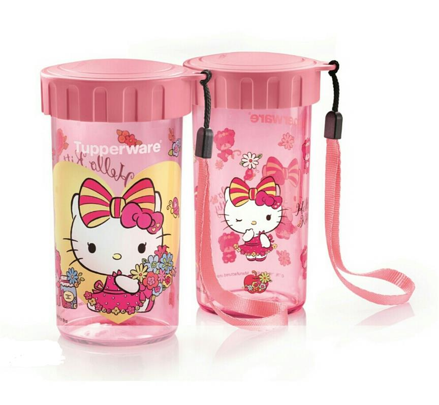 7743ce328 Tupperware Hello Kitty Flask (2) 31 (end 5/27/2020 10:15 PM)