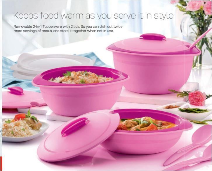 Tupperware Insulated Server 1.5L with Spoon