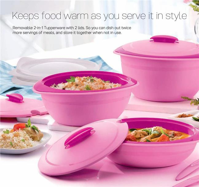 Tupperware Insulated Server Set