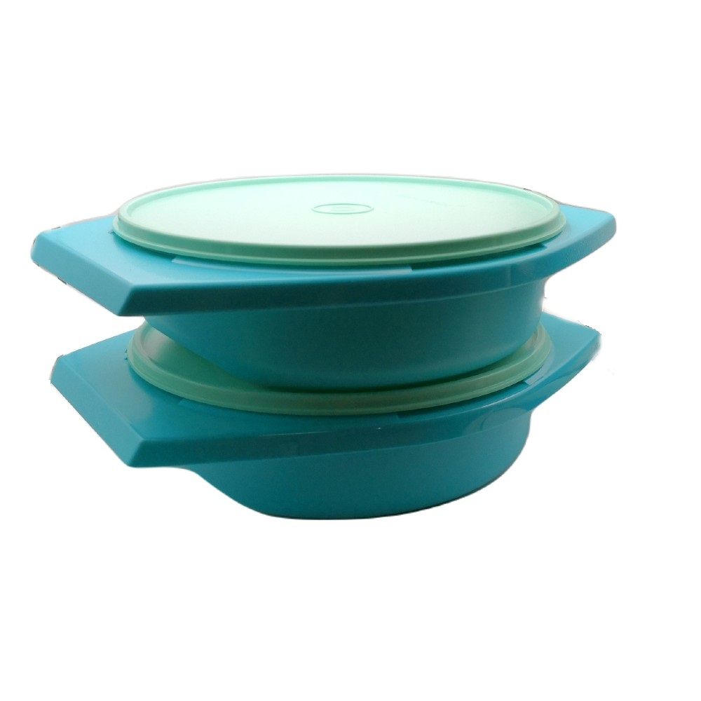 Tupperware Joy Keeper Round Server (2) 1.8L